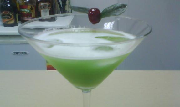 Cocktail Grasshopper recipe