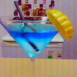Cocktail Attacking shark