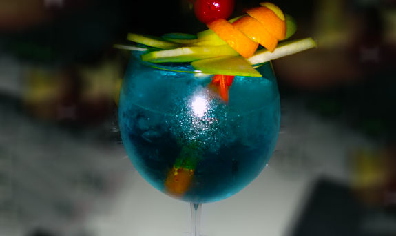 Cocktail Blue Lagoon recipe