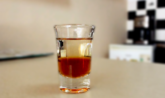 Cocktail Shot Black Russian recipe