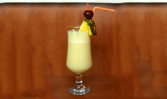 Cocktail Pina Colada recipe