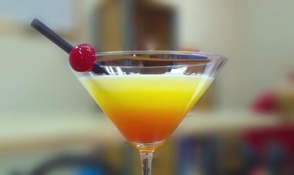 Cocktail Tequila Sunrise recipe