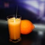 Fresh Orange, Carrot and Apple Juice